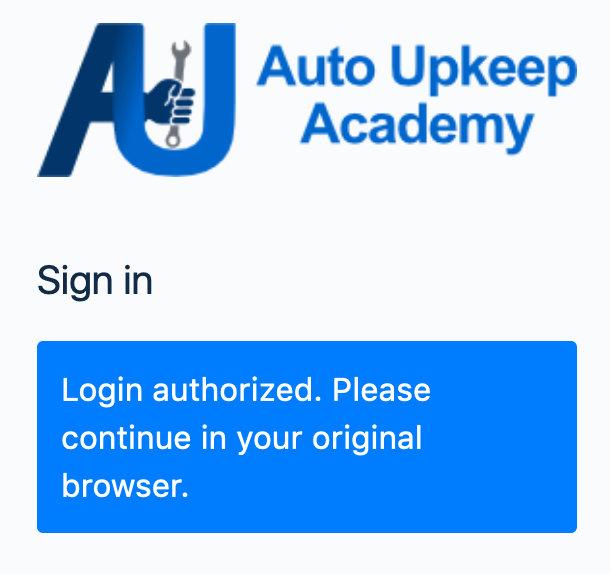 Login Authorized