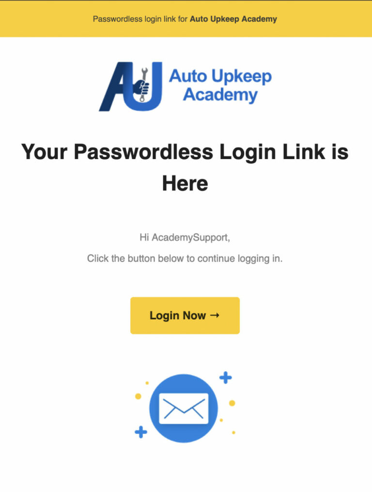 Login Now Email